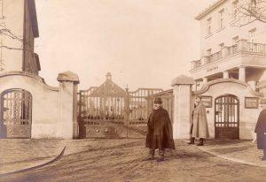 Kaserne Löbau Eingang