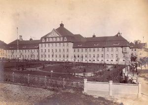 Kaserne Löbau Mannschaftshaus