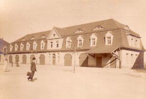 Kaserne Löbau Wagenschuppen